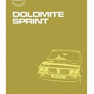 Dolomite sprint workshop manual