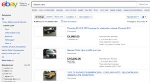 ebay classic car