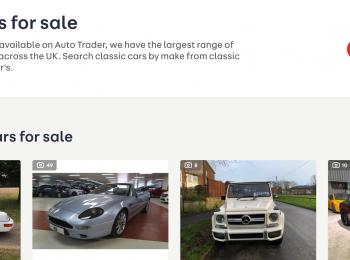 Classic Car Sales  – Auto Trader