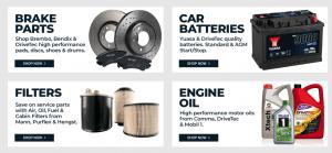 GSF car parts