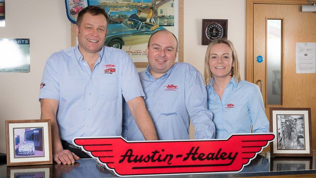 A H Spares Ltd – Austin Healey and Sprite Specialists