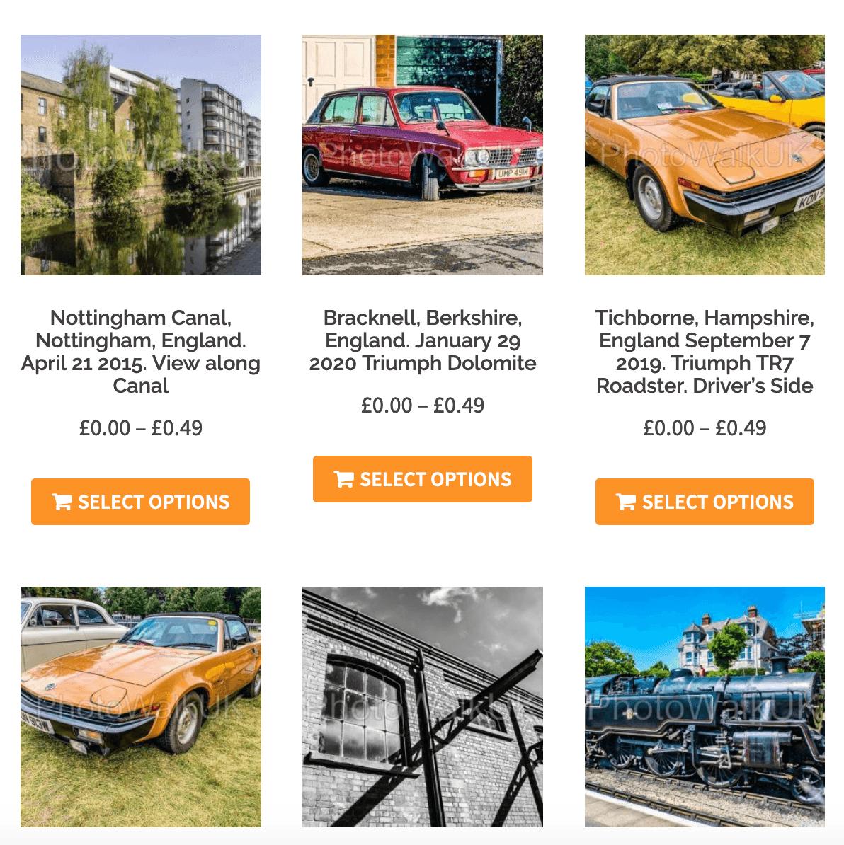 Classic Car Photos - Photo Walk UK